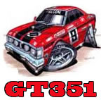 GT 351 Stickers | XB Falcon